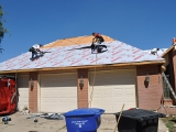 Roof Being Replaced
